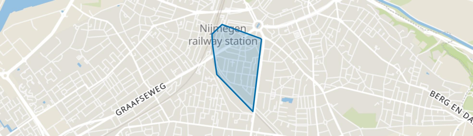 Bottendaal, Nijmegen map