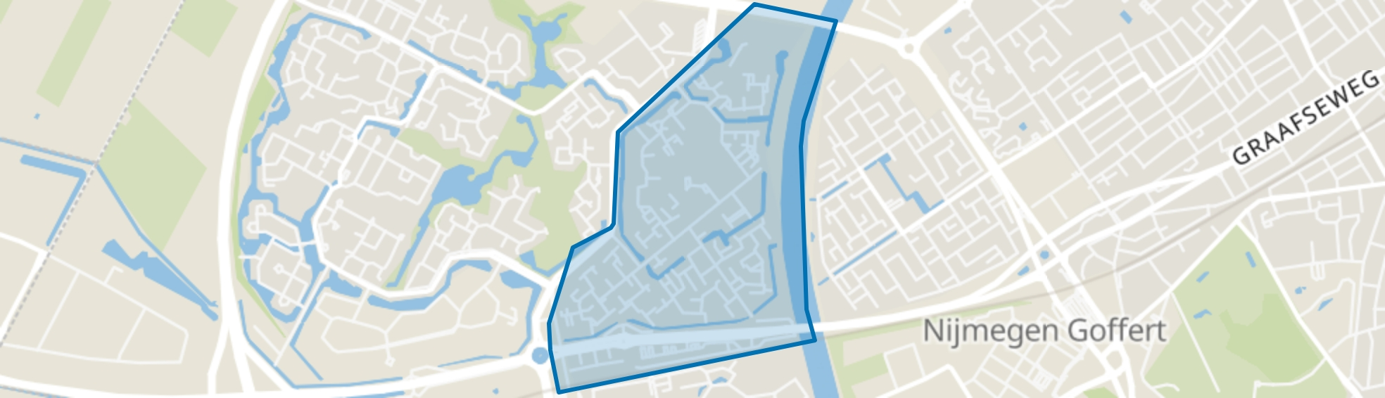 De Kamp, Nijmegen map
