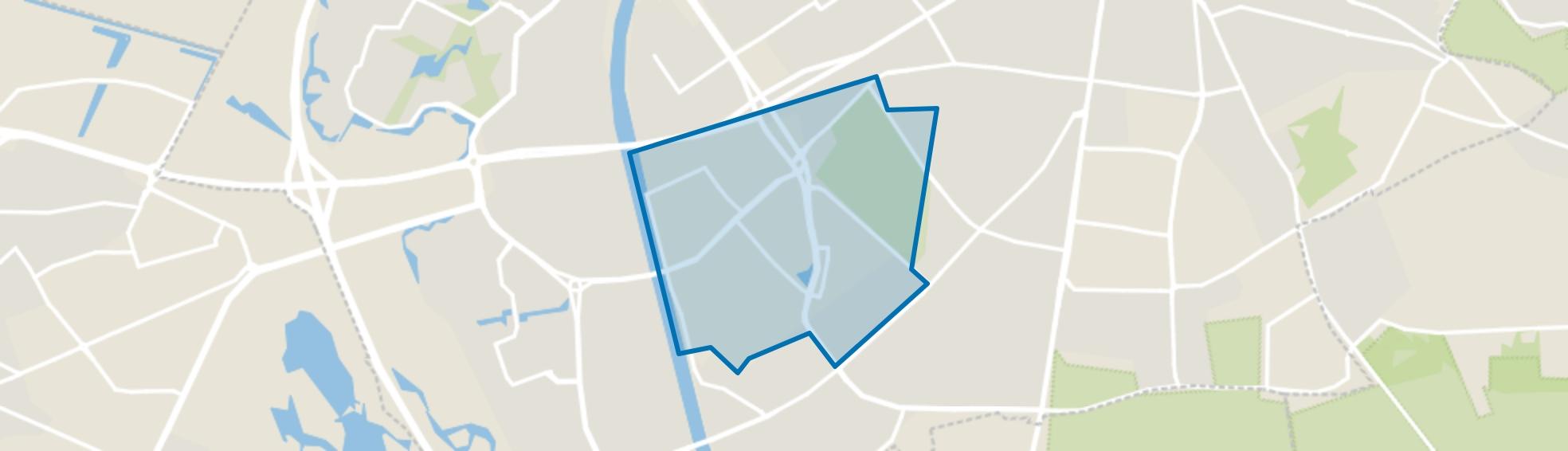 Goffert, Nijmegen map