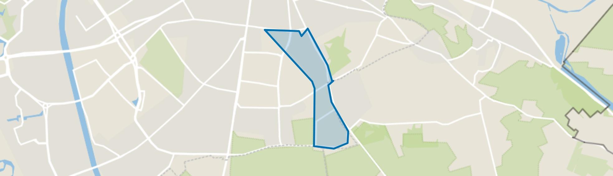 Groenewoud, Nijmegen map