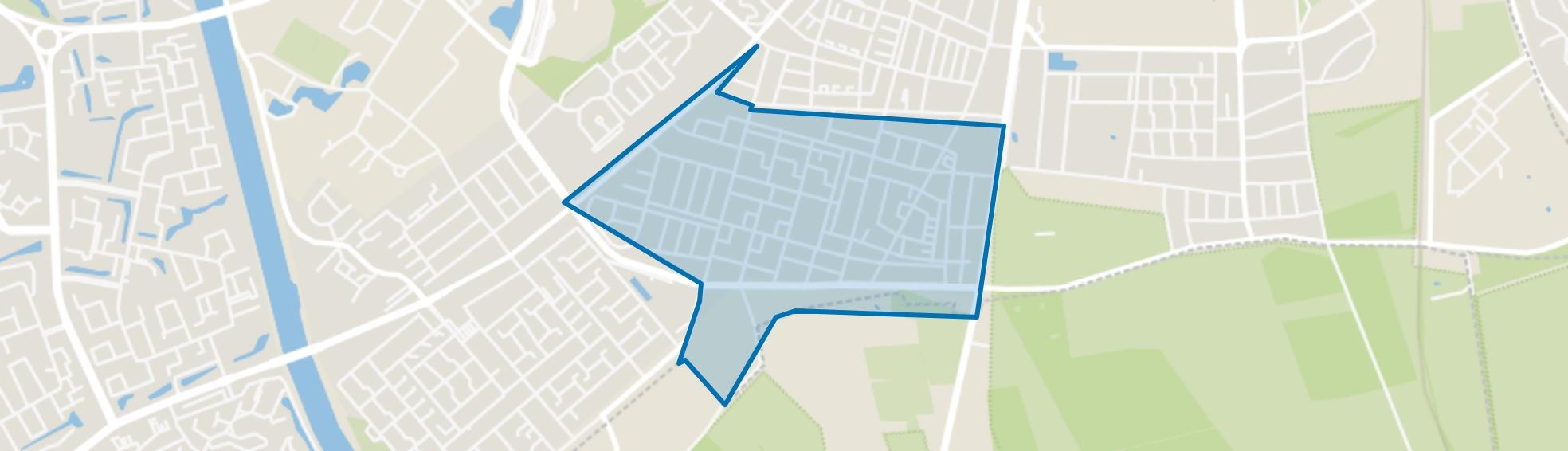 Grootstal, Nijmegen map