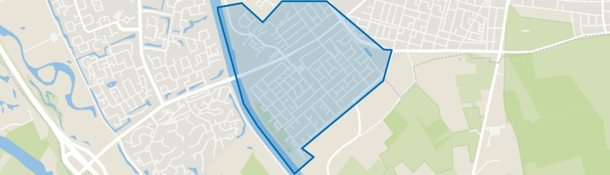 Hatert, Nijmegen map