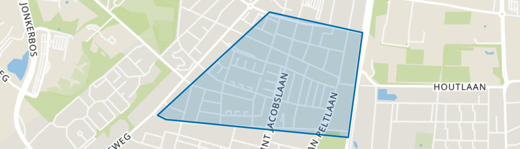 Hatertse Hei, Nijmegen map