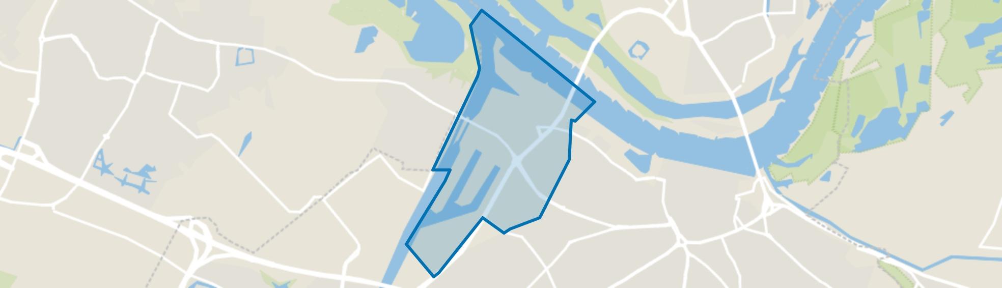 Haven- en industrieterrein, Nijmegen map