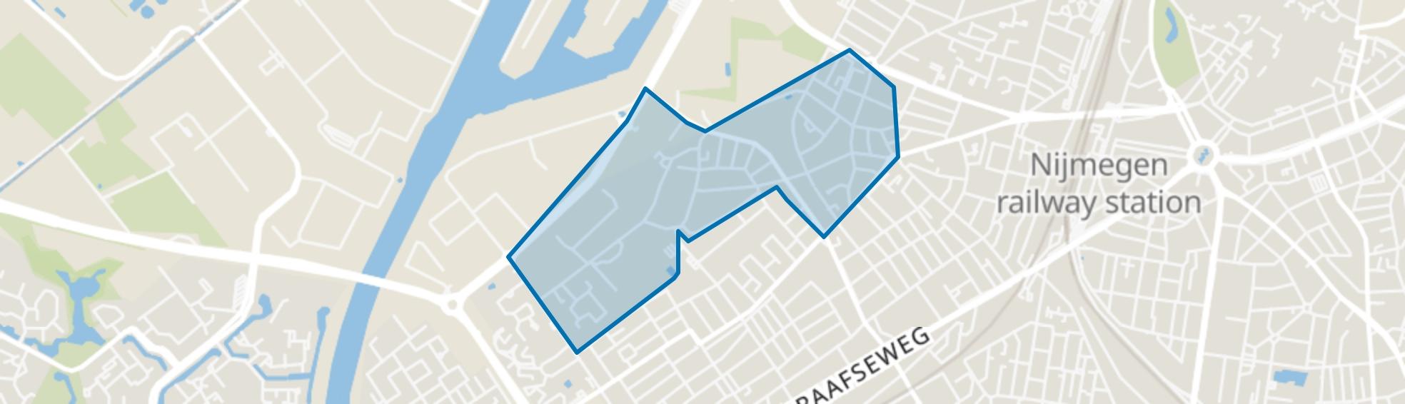 Hees, Nijmegen map