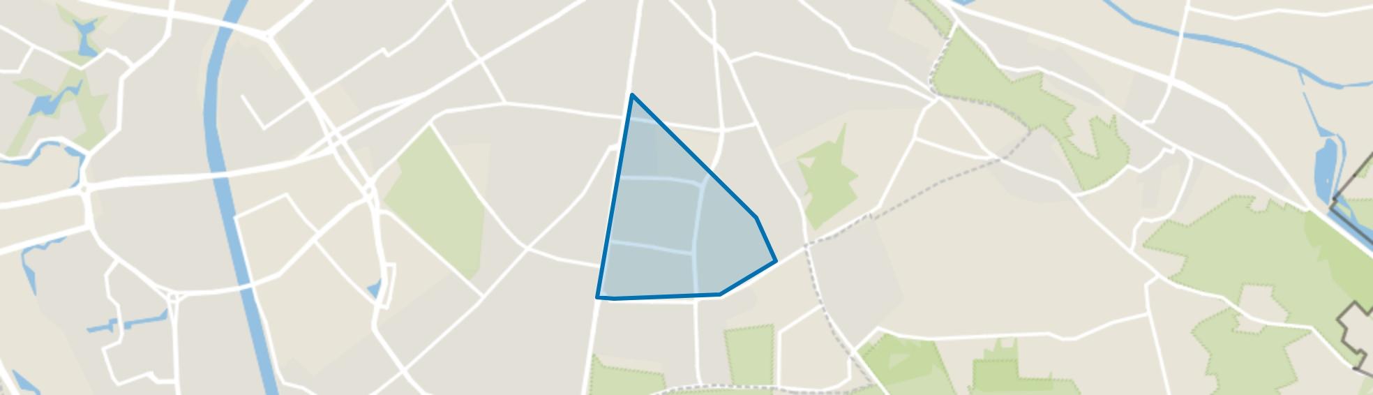 Heijendaal, Nijmegen map
