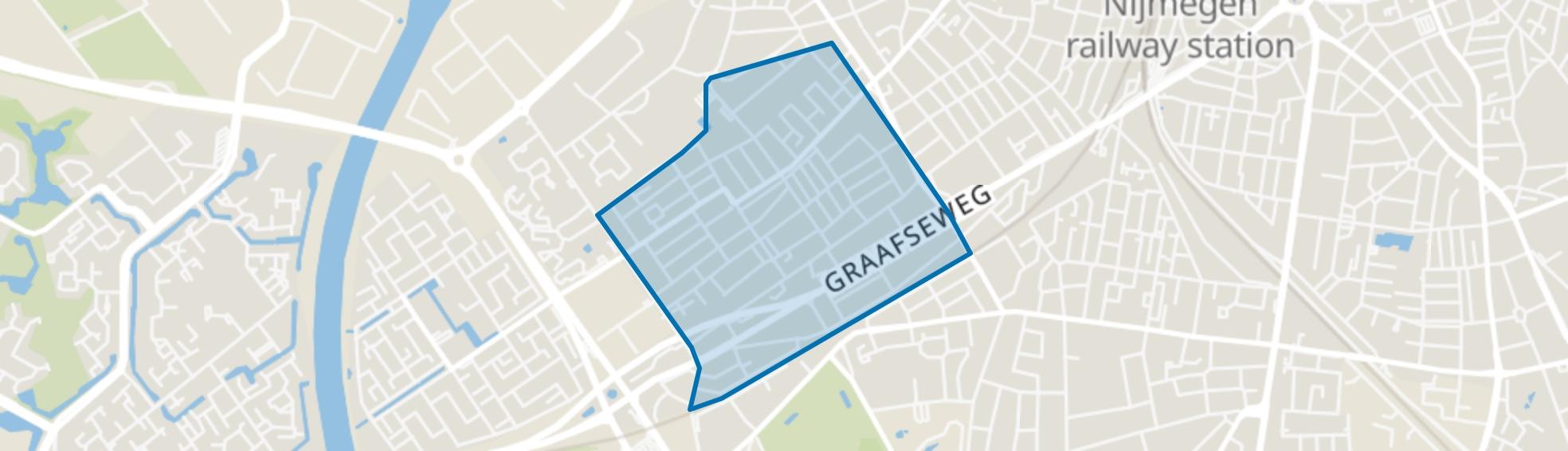 Heseveld, Nijmegen map