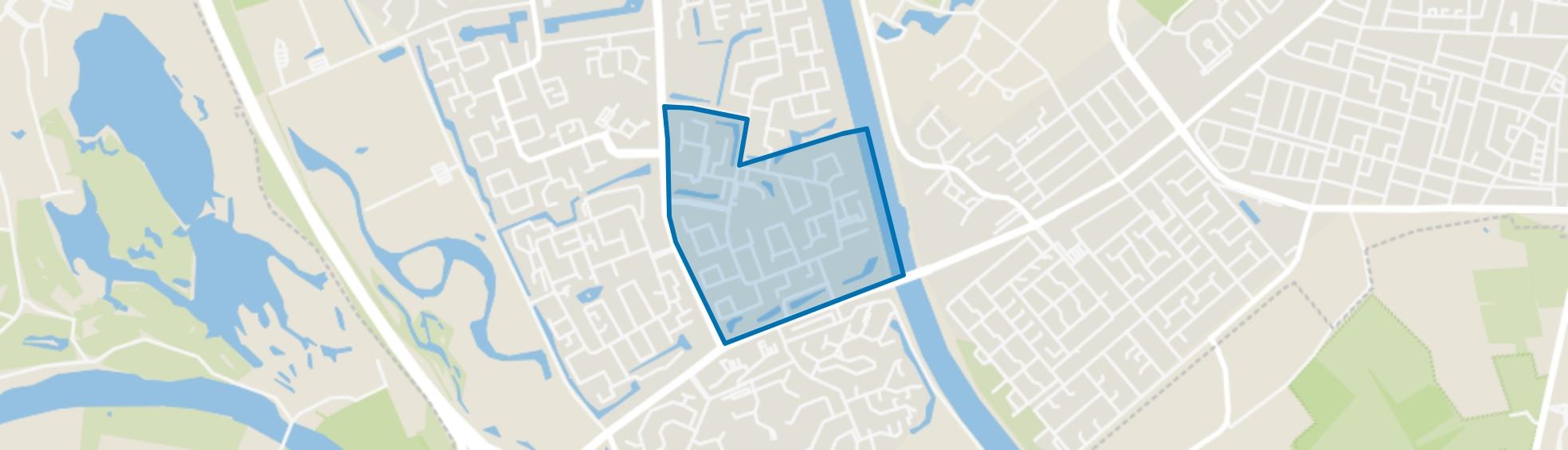 Malvert, Nijmegen map
