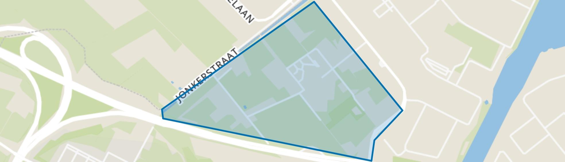 Neerbosch-West, Nijmegen map