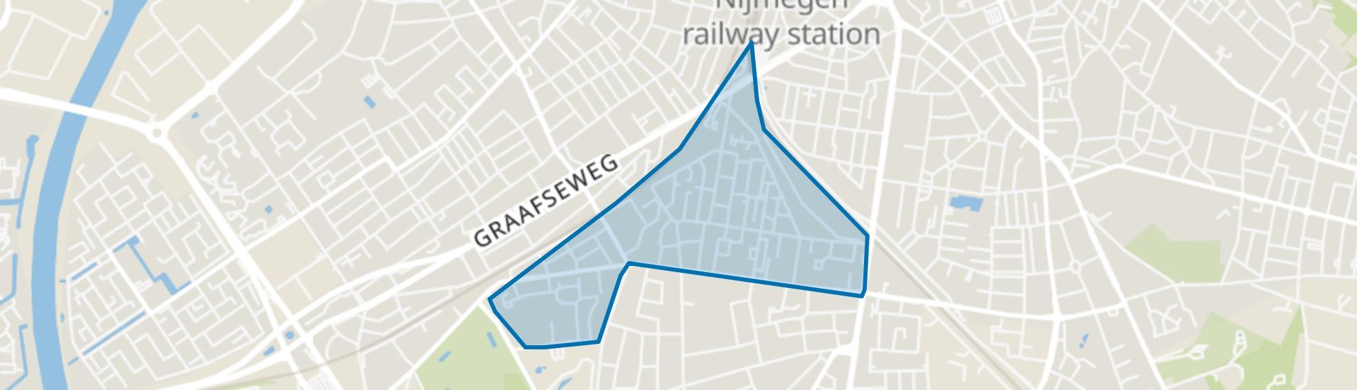 Nije Veld, Nijmegen map