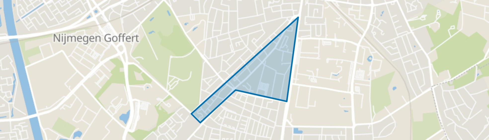 St. Anna, Nijmegen map