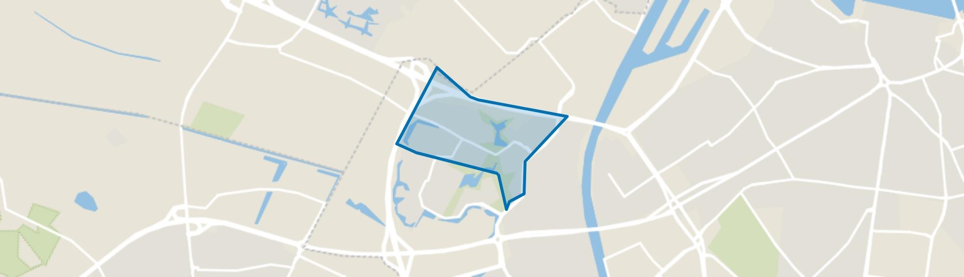 't Acker, Nijmegen map