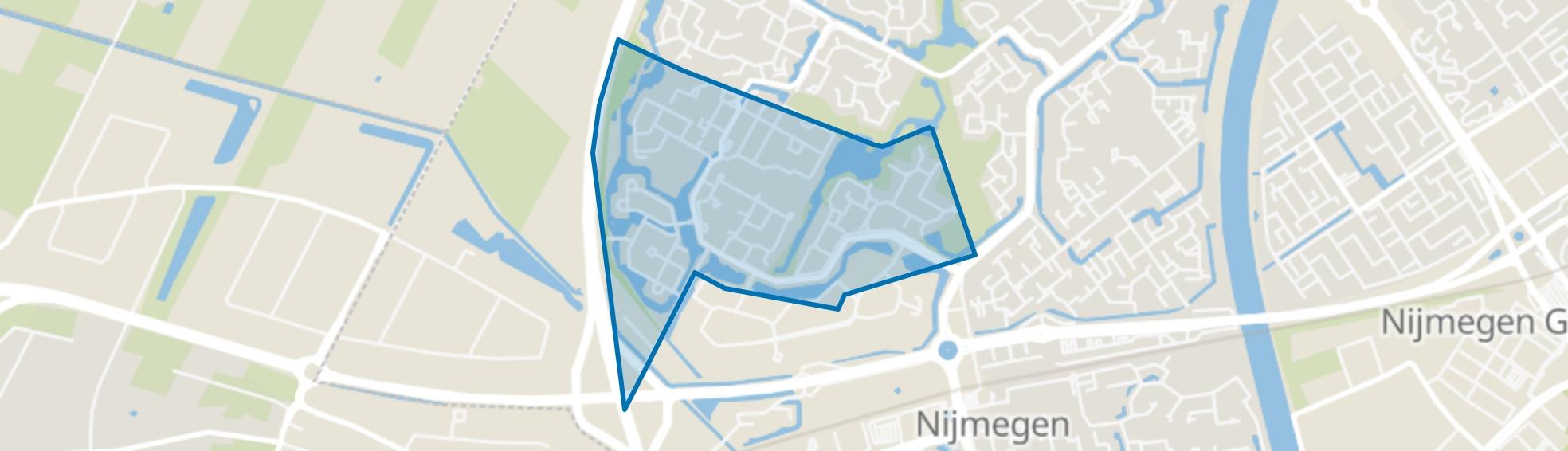 't Broek, Nijmegen map