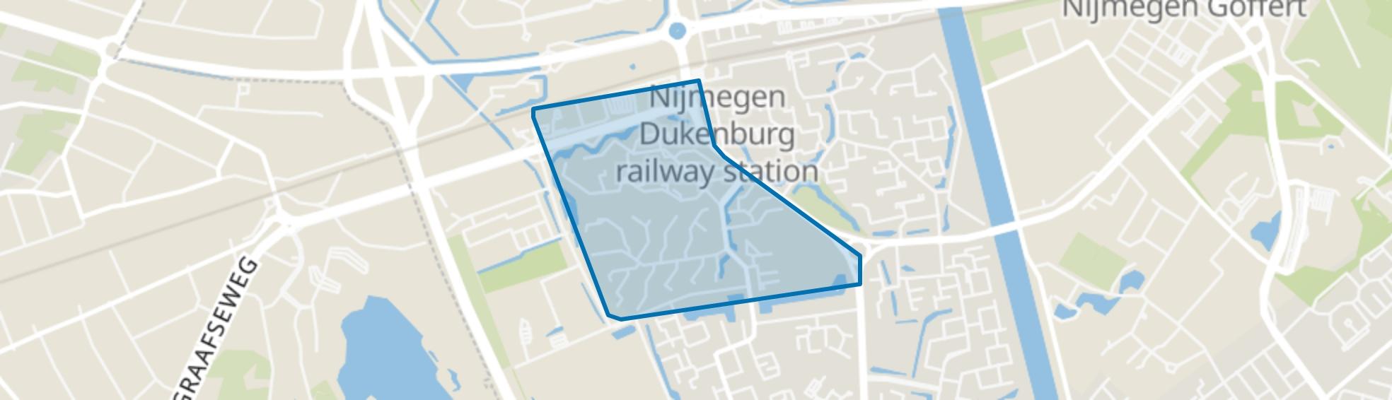 Tolhuis, Nijmegen map