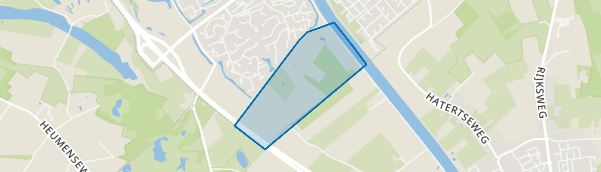 Vogelzang, Nijmegen map