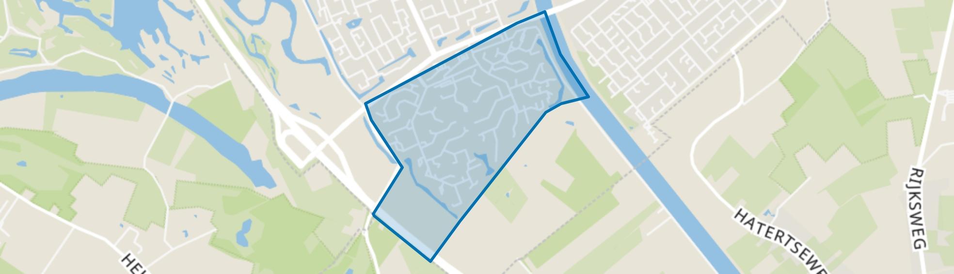 Weezenhof, Nijmegen map