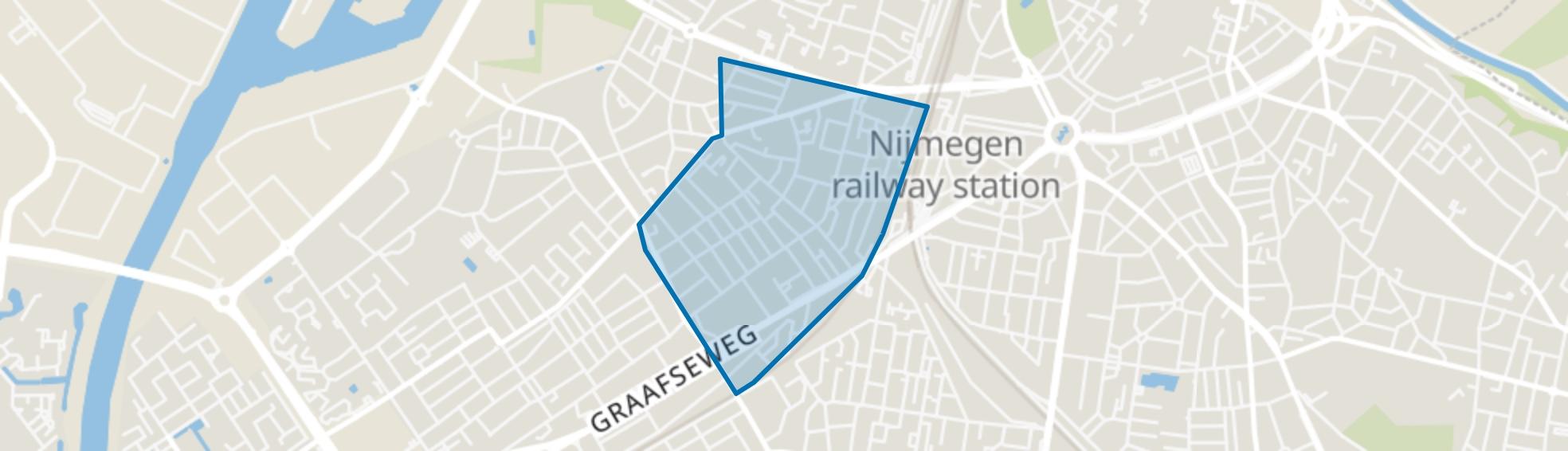 Wolfskuil, Nijmegen map