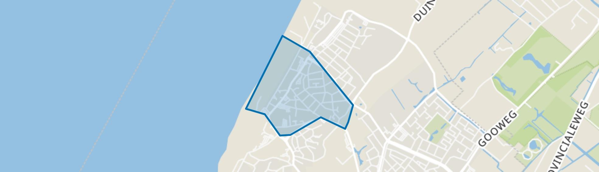 Dorpskern, Noordwijk (ZH) map