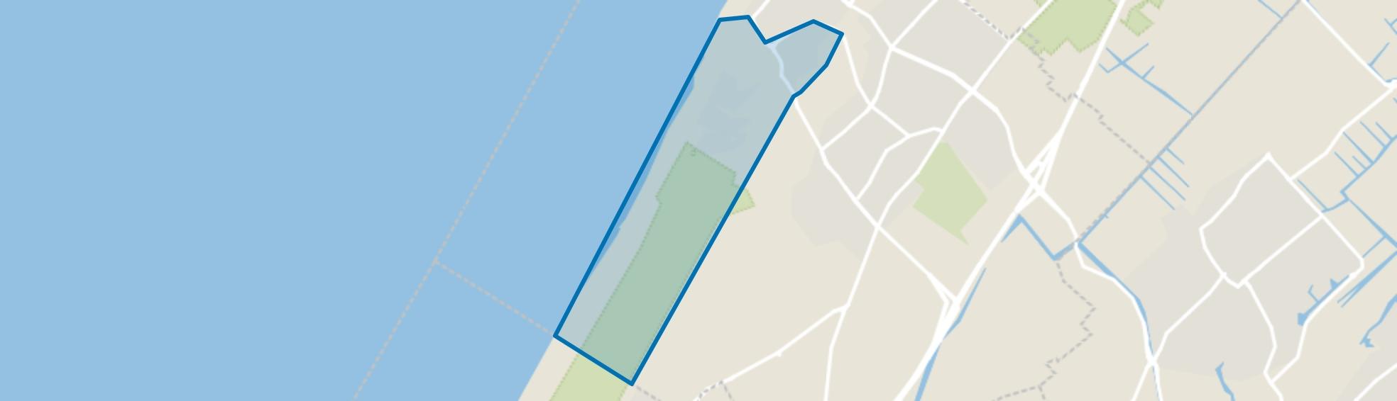 Villawijk-Zuid, Noordwijk (ZH) map