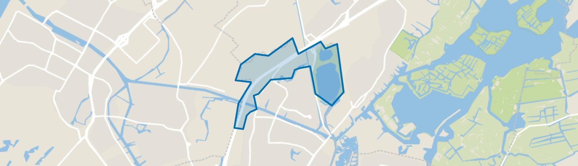 Buitengebied, Oegstgeest map