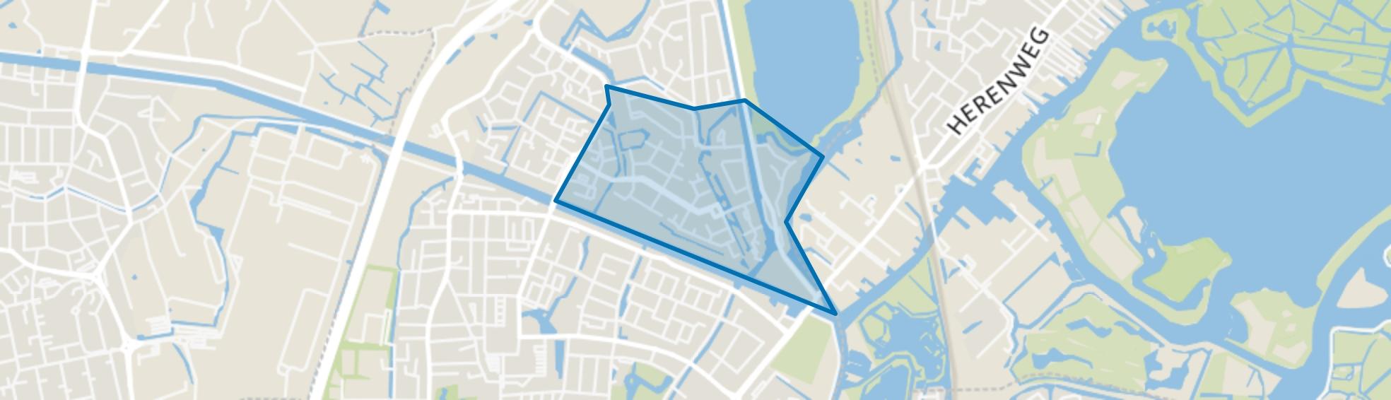 Haaswijk-Oost, Oegstgeest map