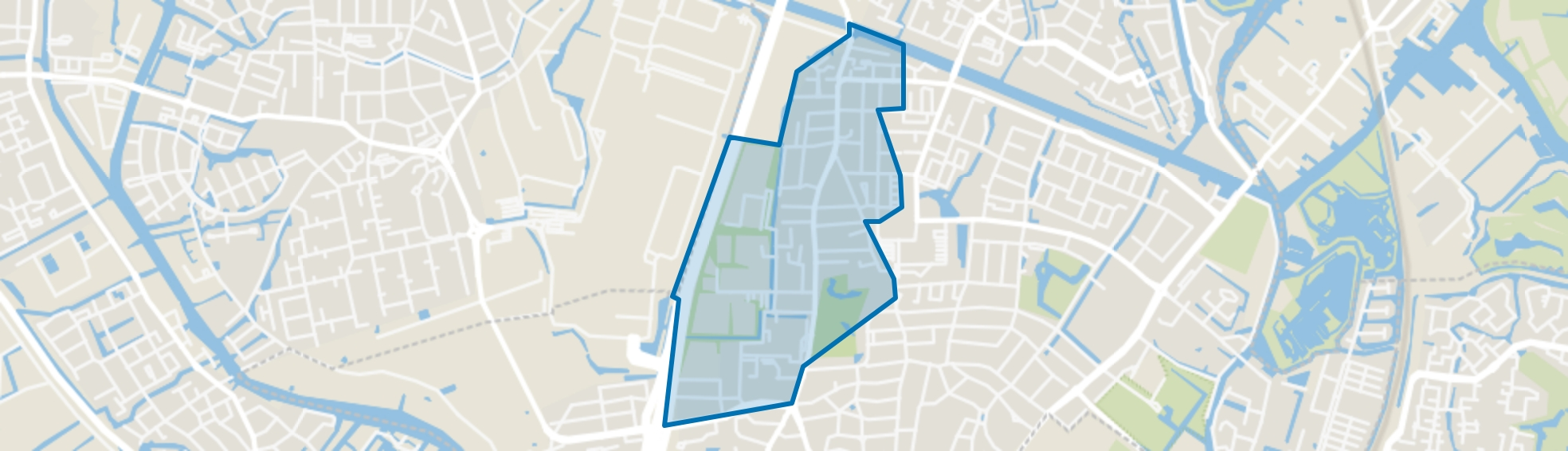 Voscuyl, Oegstgeest map
