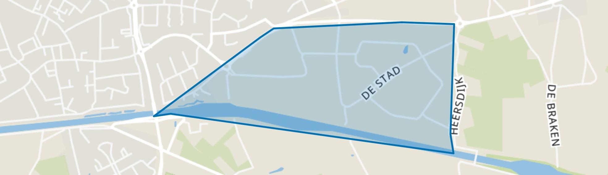Industrieterrein De Stad, Oirschot map