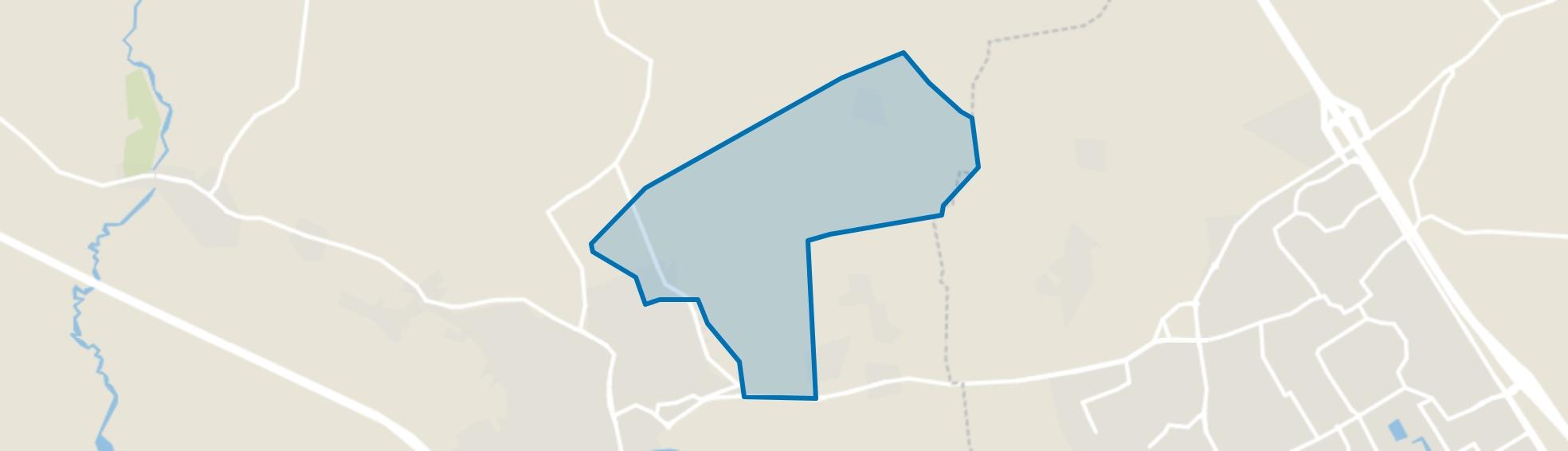 Snepseind en Bijsterveld, Oirschot map