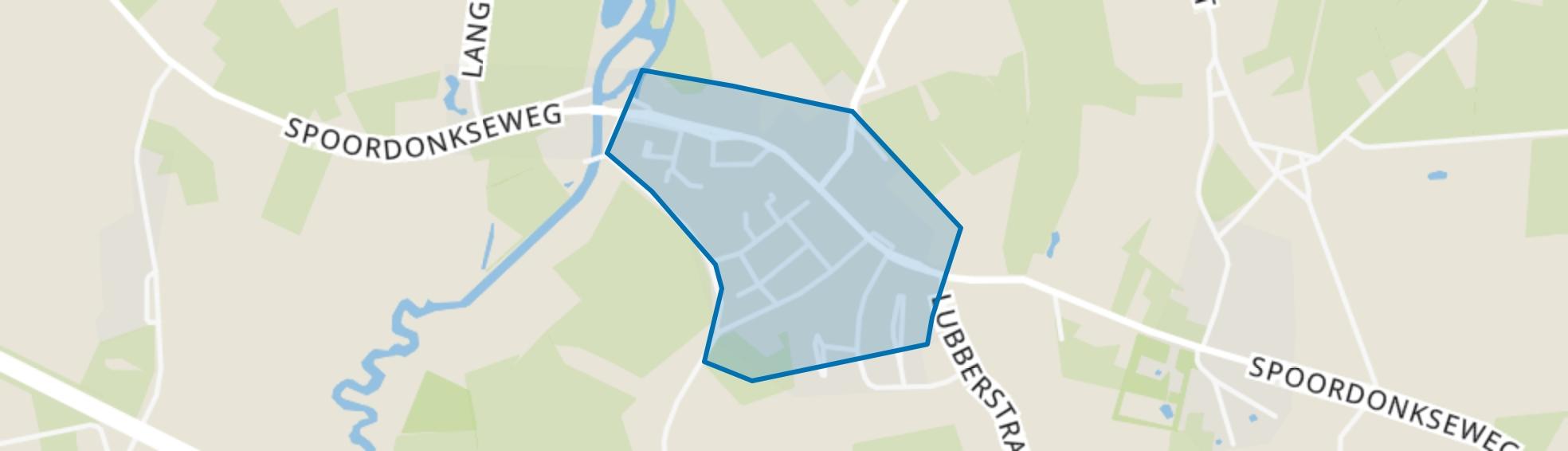 Spoordonk, Oirschot map
