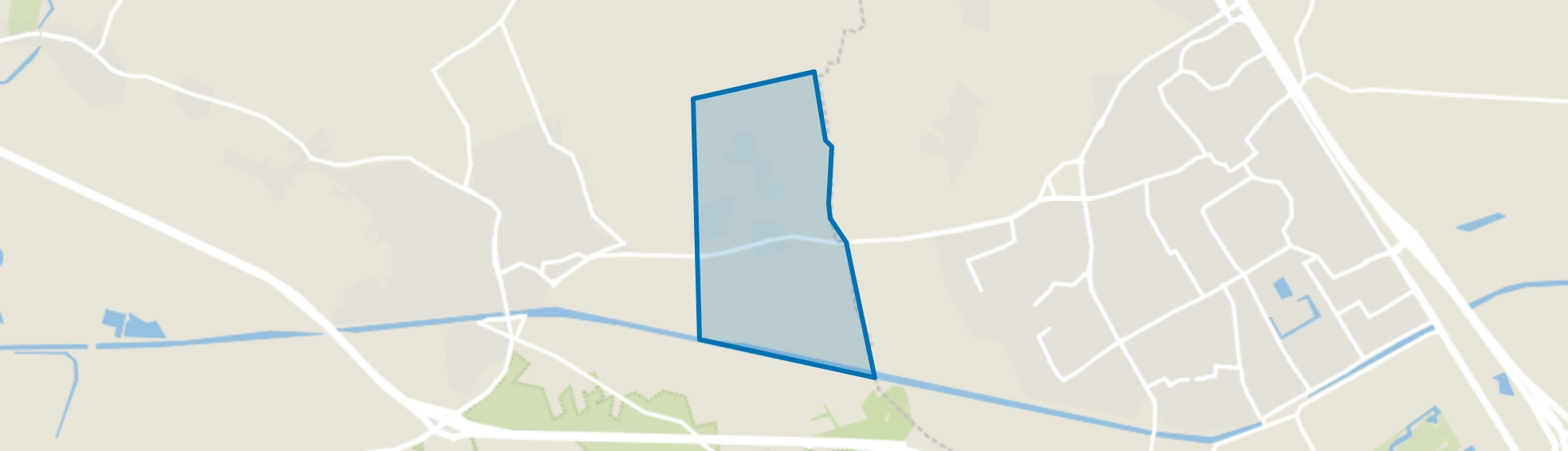 Straten met Moleneind, Oirschot map