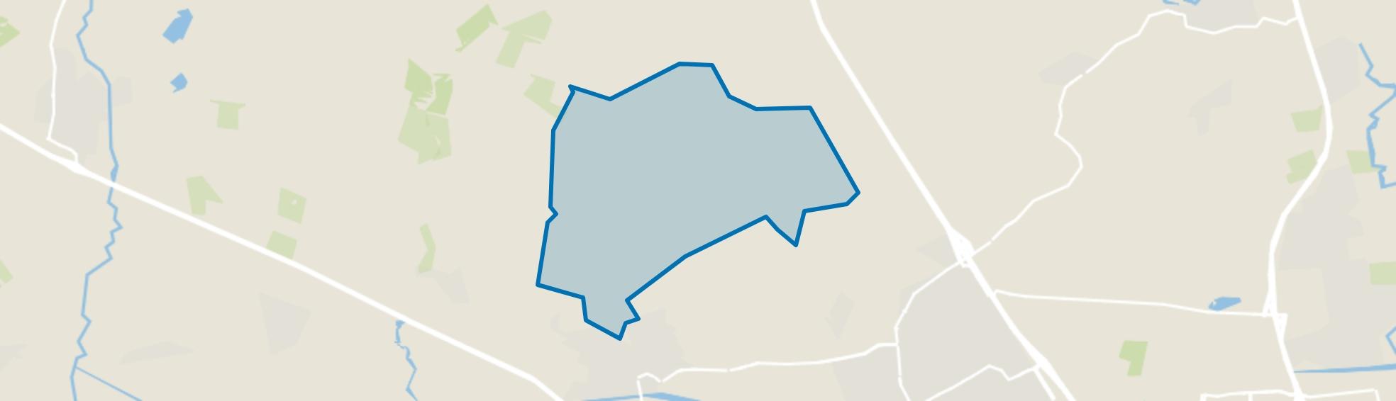 Verspreide huizen Noord en De Mortelen, Oirschot map