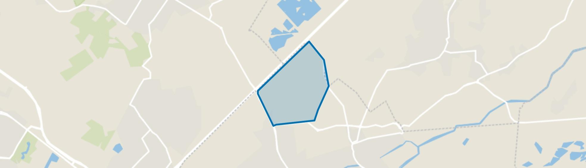 Buitengebied Kerkhoven, Oisterwijk map