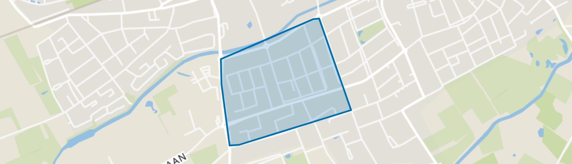 Omg. Bunders, Oisterwijk map