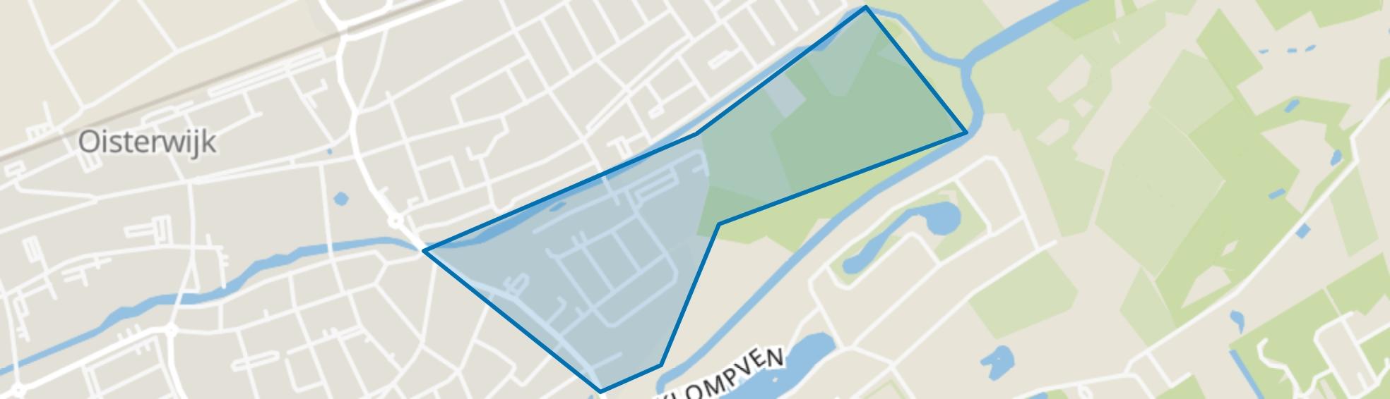 Omg. Burghtweide, Oisterwijk map