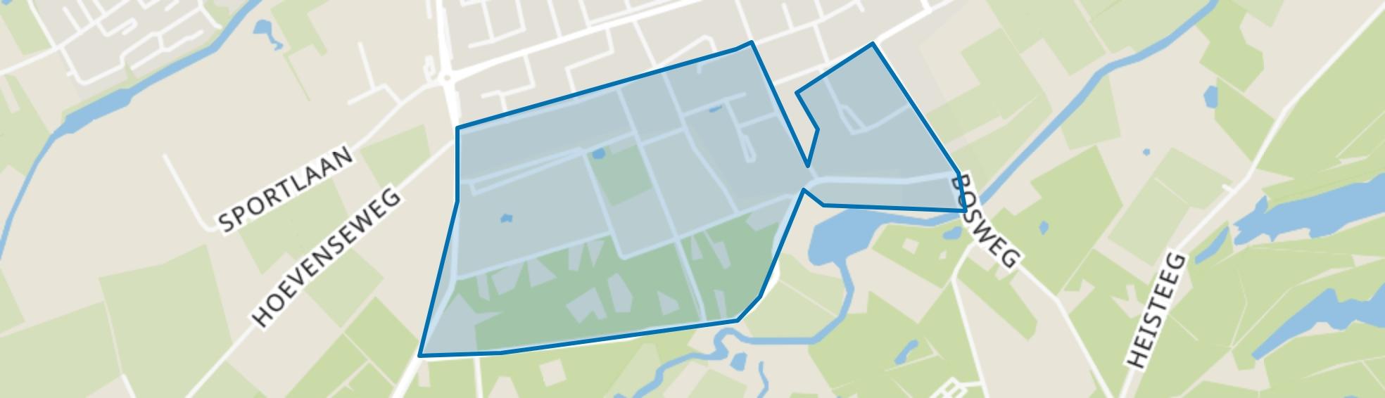 Omg. Europaln/Hondsbergseln, Oisterwijk map