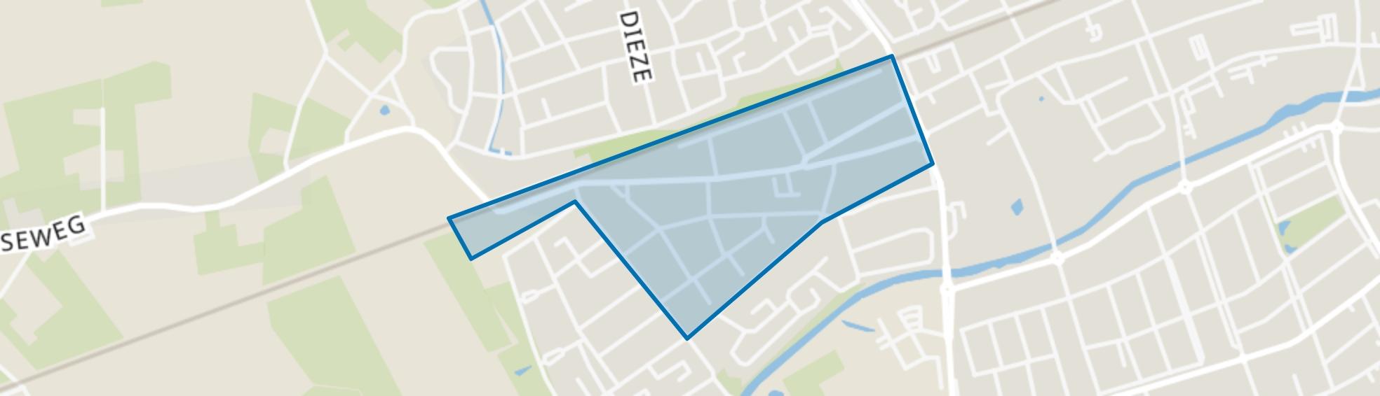 Omg. Prinsessen-wijk, Oisterwijk map