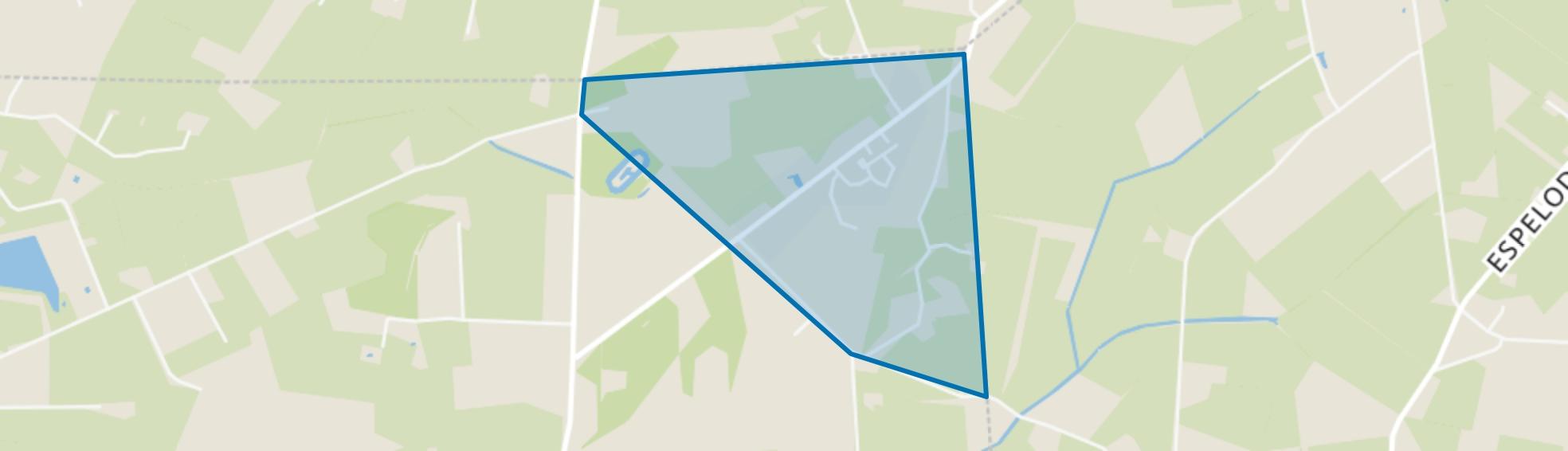 Okkenbroek, Okkenbroek map