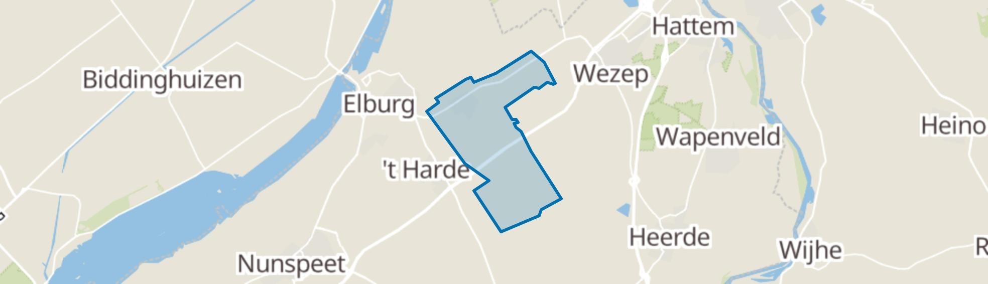 Oldebroek map