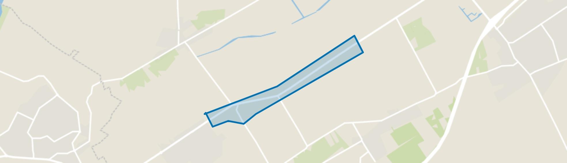 Broekdijk, Oldebroek map