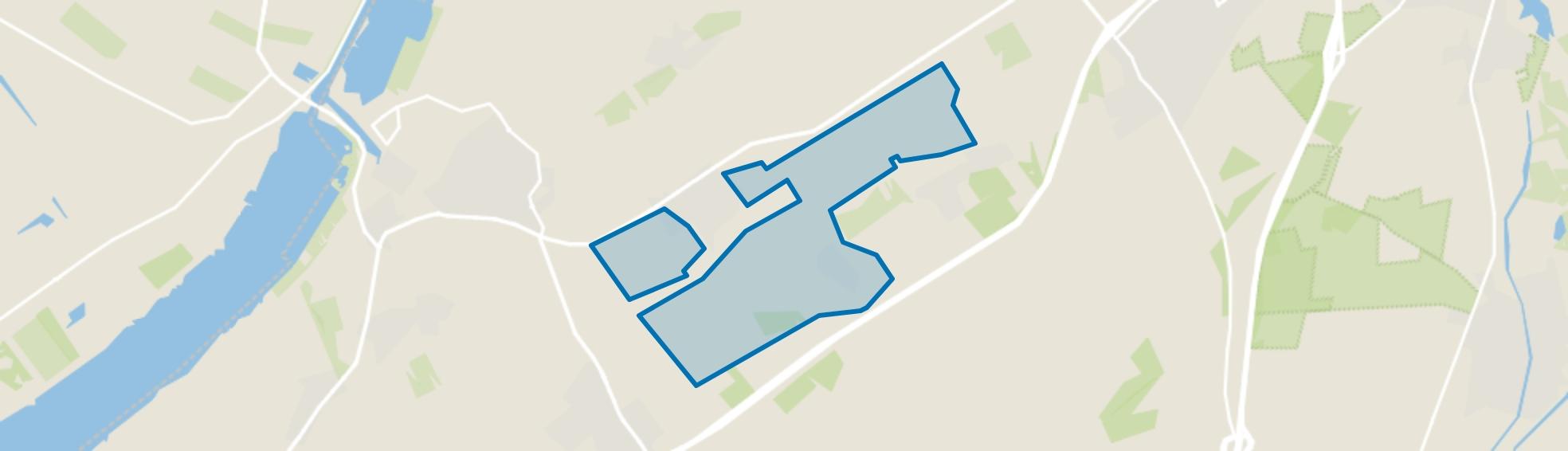 Verspreide huizen Oldebroek, Oldebroek map
