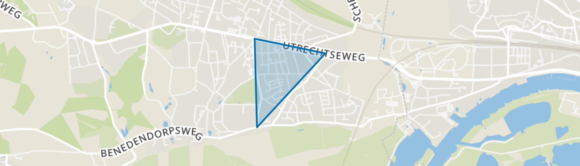 Nieuwland, Oosterbeek map
