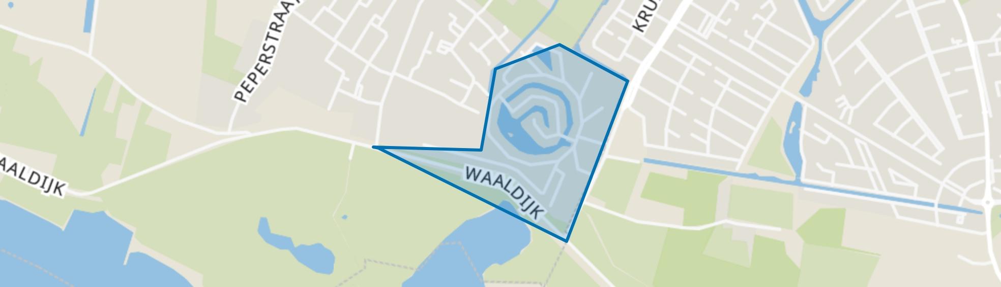 Tergouw, Oosterhout (GE) map