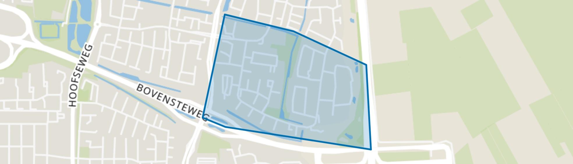 Kruidenbuurt, Oosterhout (NB) map