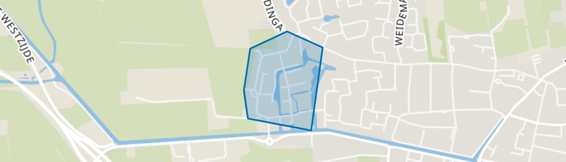 Oosterwolde-Biezenkamp, Oosterwolde (FR) map