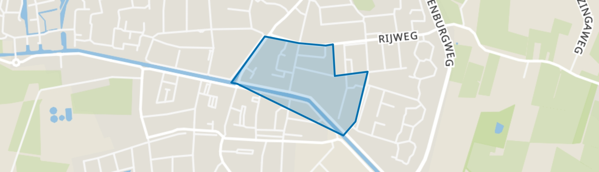 Oosterwolde-Centrum-Noord-Oost, Oosterwolde (FR) map