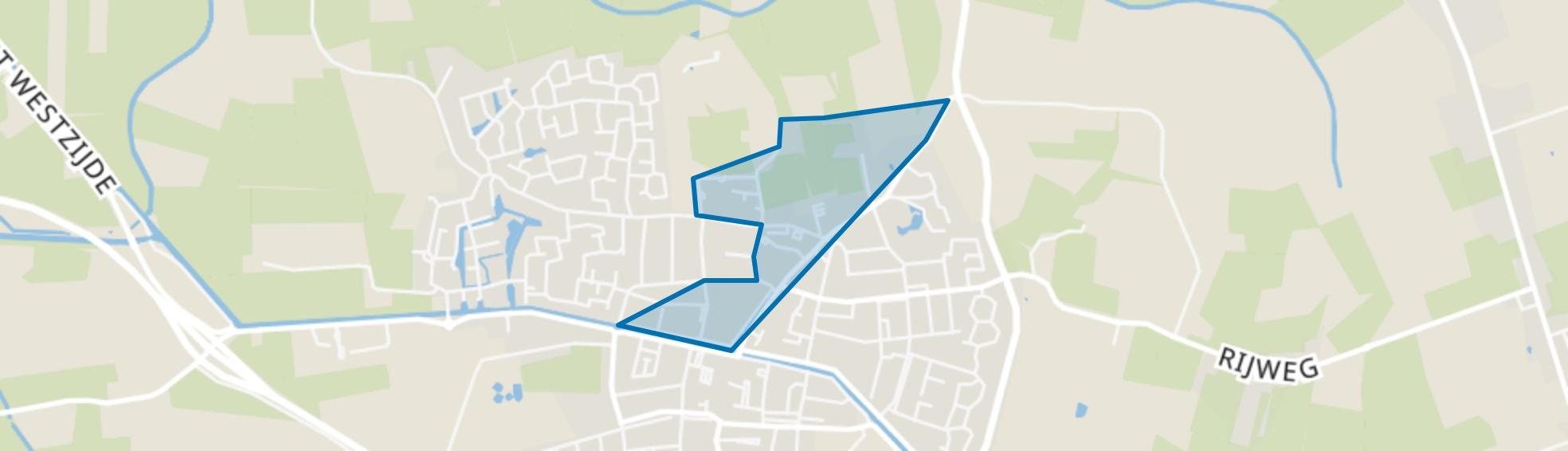 Oosterwolde-Centrum-Noord-West, Oosterwolde (FR) map