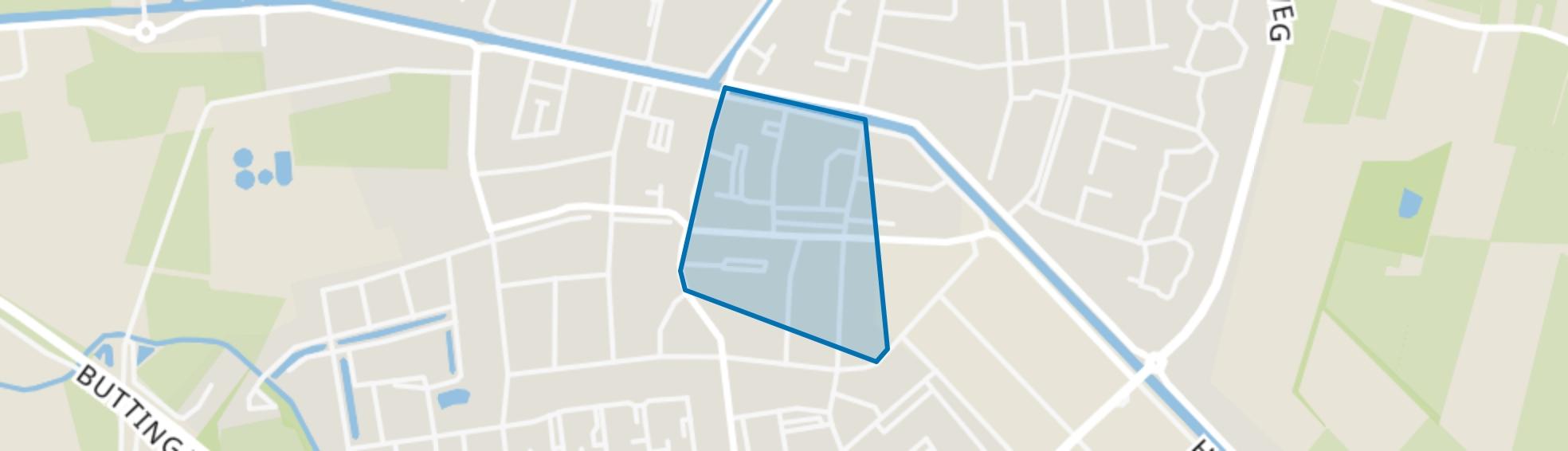 Oosterwolde-Centrum-Zuid-Oost, Oosterwolde (FR) map