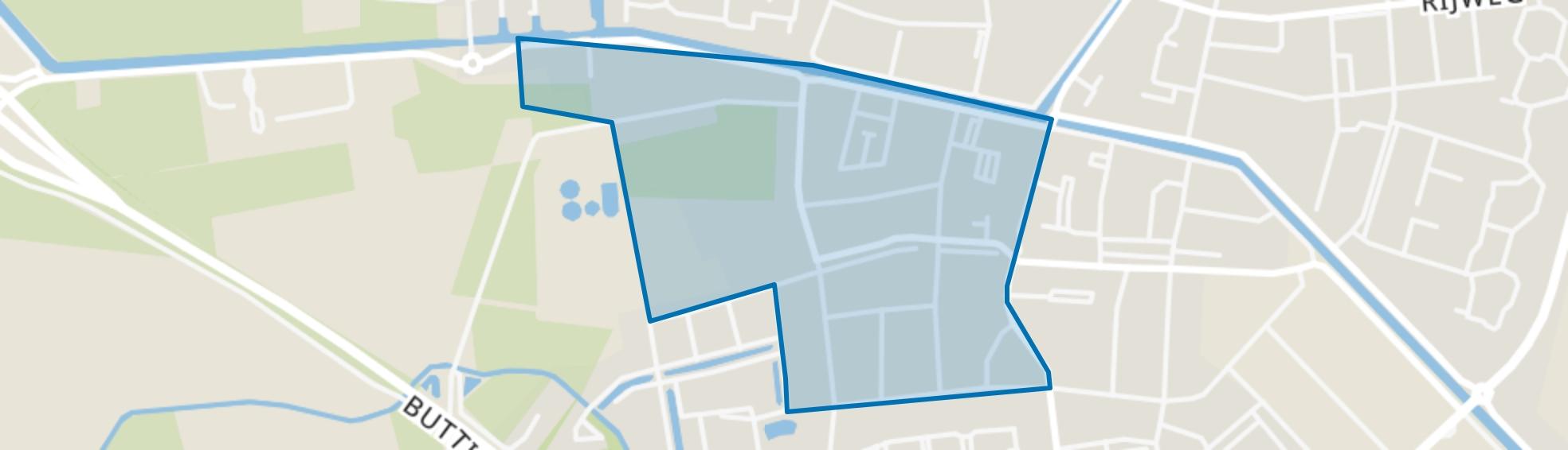 Oosterwolde-Duistereweg, Oosterwolde (FR) map