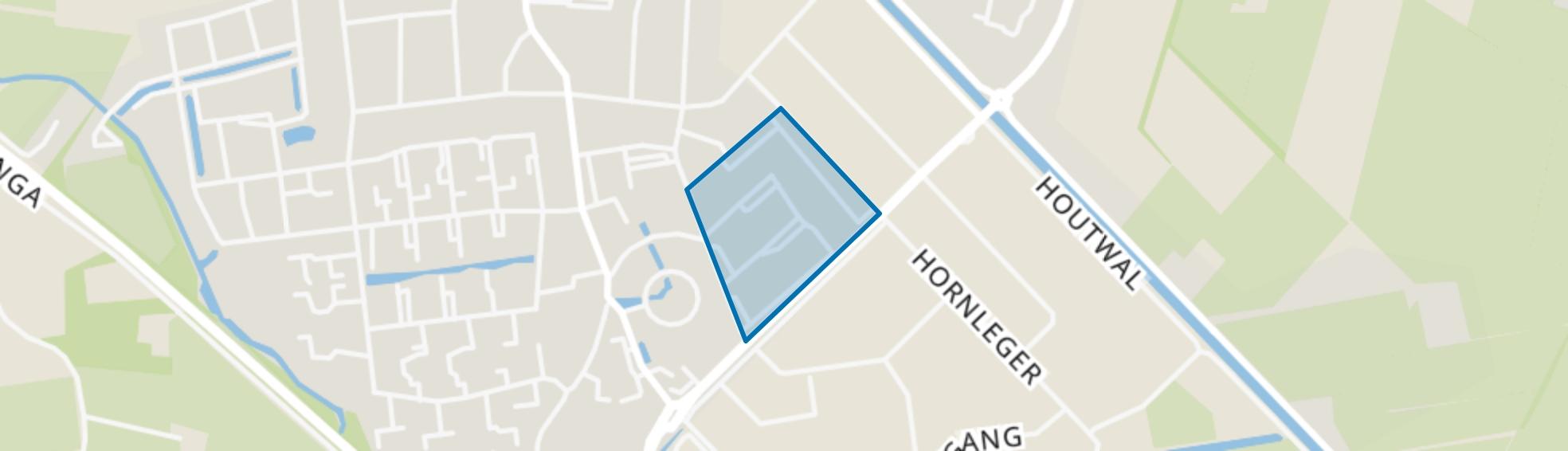 Oosterwolde-Haerenkwartier, Oosterwolde (FR) map