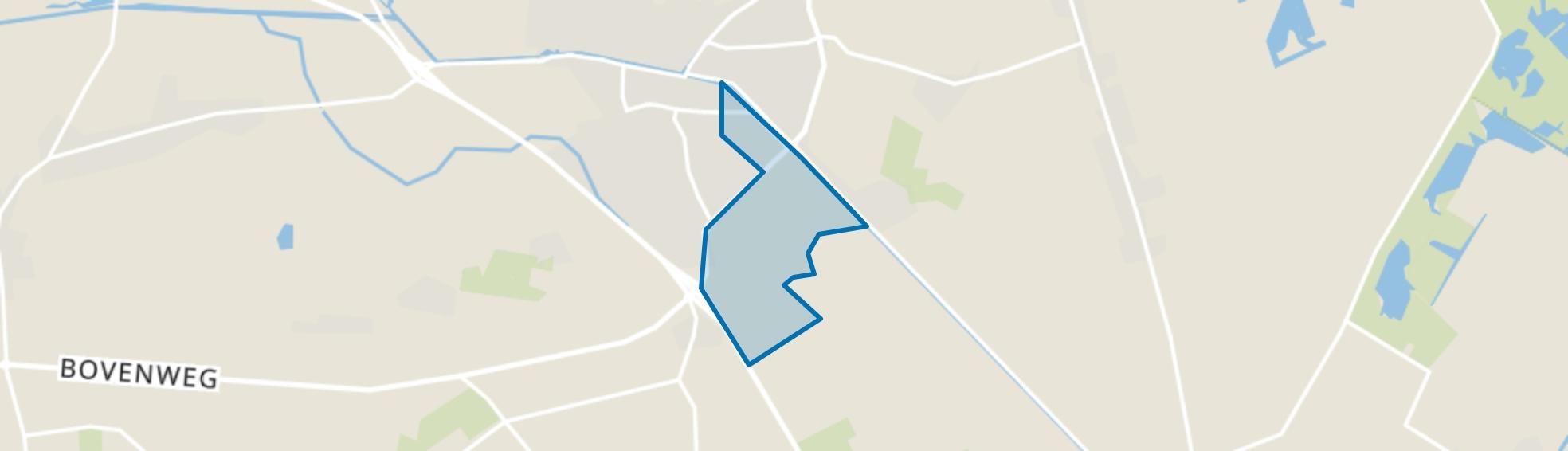 Oosterwolde-Industrie, Oosterwolde (FR) map